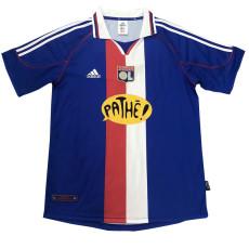 2000-2001 Lyon Away Blue Retro Soccer Jersey