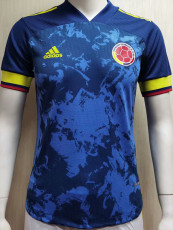 2020 Colombia Away Player Version Soccer Jersey