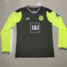 20-21 Dortmund BLACK EDITION Long Sleeve Soccer Jersey