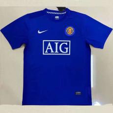 2007-2008 Man Utd Away Retro Soccer Jersey