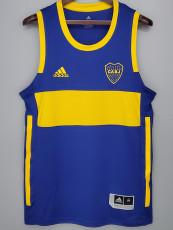 2021 Boca Juniors Blue basketball Jersey