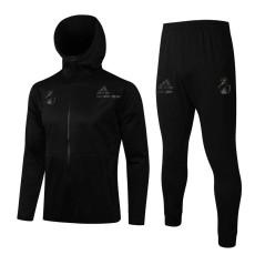 21-22 RMA Black Hoodie Jacket Tracksuit