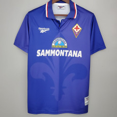 1995-1996 Fiorentina Home Retro Soccer Jersey