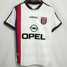 1995-1996 Bayern Away Retro Soccer Jersey