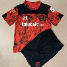 Copy 21-22 Toluca Home Kids Soccer Jersey