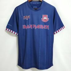 21-22 West Ham  x Iron Maiden away Fans soccer jersey(带11)