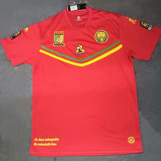 21-22 Cameroon Red Fans Soccer Jersey