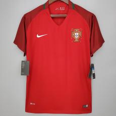 2018 Portugal Home Retro Soccer Jersey