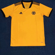 21-22 Wolves Yellow Fans Soccer Jersey