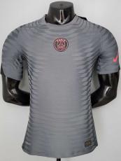 21-22 PSG Jordan Gray Player Version Training Soccer Jersey