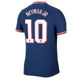 NEYMAR JR 10 #  21-22 PSG Paris Home Fans Soccer Jersey(带袖子广告)