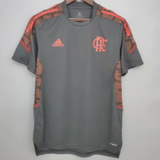 21-22 Flamengo Dark gray Training Jersey
