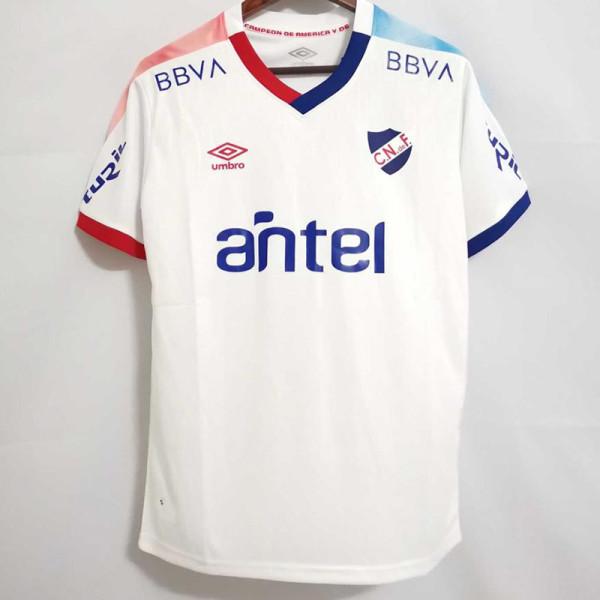 21-22 Club Nacional Home Fans Soccer Jersey(乌拉圭国民)