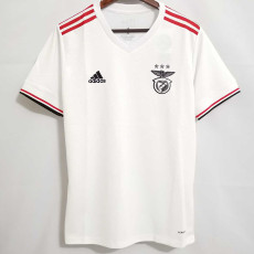 21-22 Benfica Away White Fans Soccer Jersey