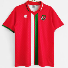 1996-1998 Wales Home Retro Soccer Jersey