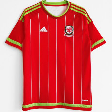 2015-2016 Wales Home Retro Soccer Jersey