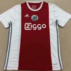21-22 Ajax White Red Fans Soccer Jersey