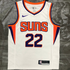 2021 Suns AYTON #22 White Top Quality Hot Pressing NBA Jersey