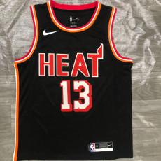 Miami Heat ADEBAYO #13 Black Top Quality Hot Pressing NBA Jersey
