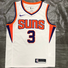 2021 Suns PAUL #3 White Top Quality Hot Pressing NBA Jersey