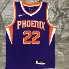 2021 Suns AYTON #22 Purplee Top Quality Hot Pressing NBA Jersey