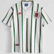 1993-1995 Wales Away Retro Soccer Jersey