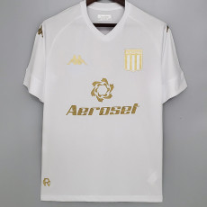 21-22 Atletico Argentina Third  White Fans Soccer Jersey(阿根廷竞赛)