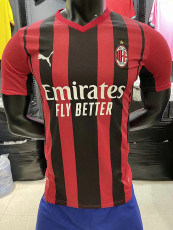 21-22 ACM Home Player Version Soccer Jersey