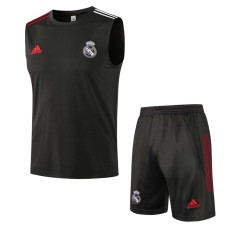 21-22 RMA Dark gray Tank top and shorts suit