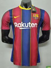 20-21 BAR Home Player Version Soccer Jersey