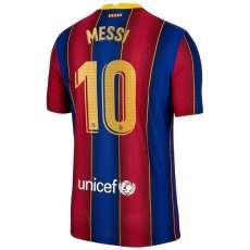 MESSI #10 BAR 1:1 Home Fans Soccer Jersey 2020/21 ( La Liga Fonts 联赛球员字体)