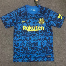 20-21 BAR Blue Multicolor Training shirts