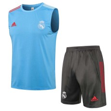 21-22 RMA Light blue Tank top and shorts suit