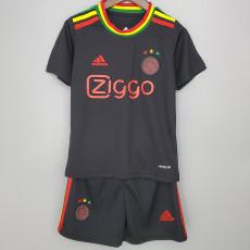 21-22 Ajax Third Kids Soccer Jersey