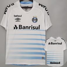 21-22 Gremio Away ALL Sponsor Fans Soccer Jersey (全广告)