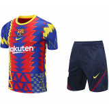 2021 BAR Blue red yellow  Training Short Suit