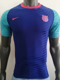 2021 BAR Player Version Blue Training Shirts