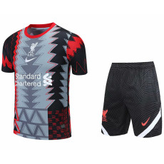 2021 LIV Black grey red Training Short Suit