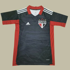 21-22 Sao Paulo Goalkeeper Gray Soccer Jersey