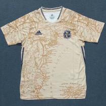 21-22 Argentina Away Maradona Commemorative Edition Soccer Jersey