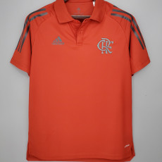 21-22 Flamengo Red Polo Short Jersey