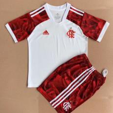 21-22 Flamengo Away Kids Soccer Jersey