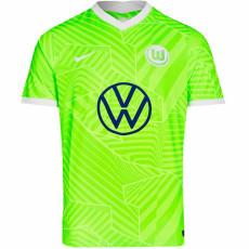 21-22 Wolfsburg Home Fans Soccer Jersey