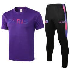 21-22 PSG Jordan Purple Tracksuit