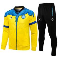 21 Napoli yellow Jacket Tracksuit
