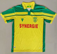 2021 Nantes Commemorative Edition Yellow Fans Soccer Jersey
