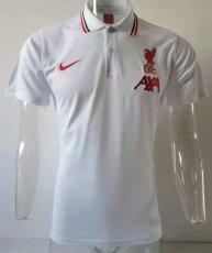 21-2 LIV White Polo Short Jersey