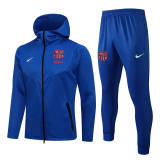 21-22 BAR Color blue Hoodie Jacket Tracksuit