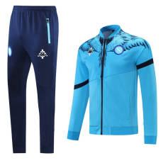 21-22  Napoli Blue Jacket Tracksuit