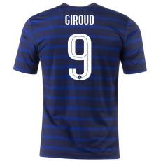 GIROUD #9 France Home 1:1 Fans Soccer Jersey 2020